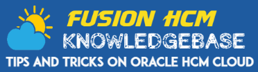 Logo 0121 - Oracle HCM Cloud Quick links for essential functionality