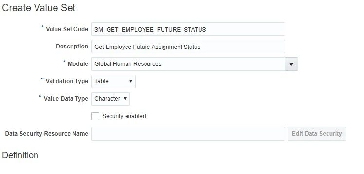 image 10 - Using Table based Valueset when DBI is unavailable