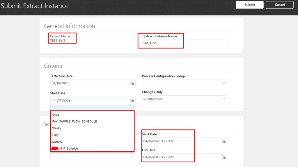 image 8 1024x576 1 - Scheduling and Cancelling an existing schedule of HCM Extract
