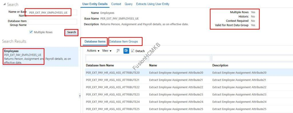 UE details 1024x394 - How to link/connect the User Entities in HCM Extracts