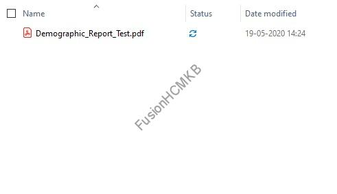 default output - Dynamic Output and Bursting for BI Report