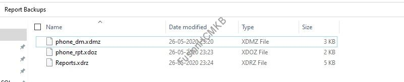 download files 1 - Migration of Objects - BI Reports