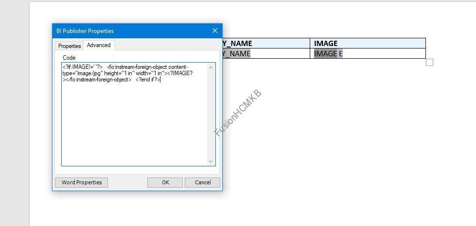 image - Display Person Image on BI Report