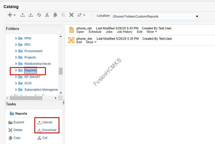 xmlpserver - Migration of Objects - BI Reports