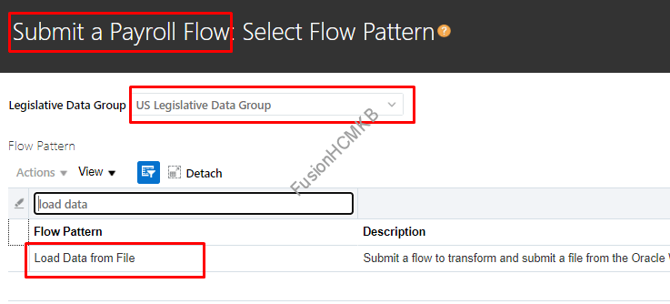 payroll flow - Basics of HDL Transformation Formula  Part 1