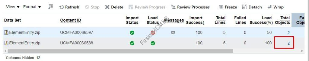 total objects snap2 1024x205 - How to ROLLBACK Element Entry HDL Load?