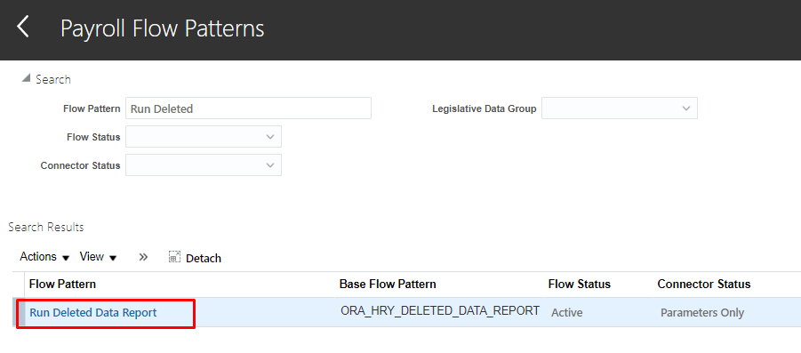 image 61 - Deleted Data Report using Audit Functionality