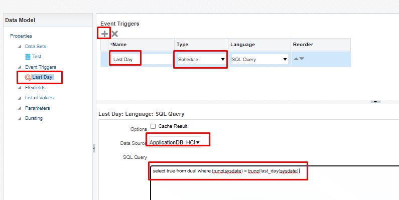 image 2 - Skip Schedule using Schedule Triggers in BI Publisher