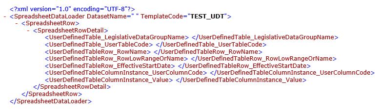 image 22 - HDL Transformation Formula using HSDL Template for UDT Load