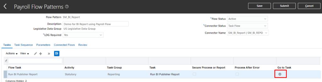 image 24 1024x261 - Run BI Publisher Report from Custom Payroll Flow Pattern