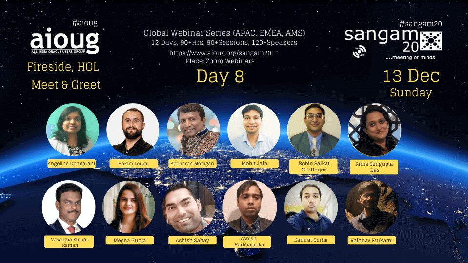 image 18 - Sangam20 Oracle Users Group Conference