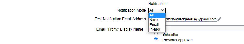 image 4 - Override Notification Email Address in HCM Cloud