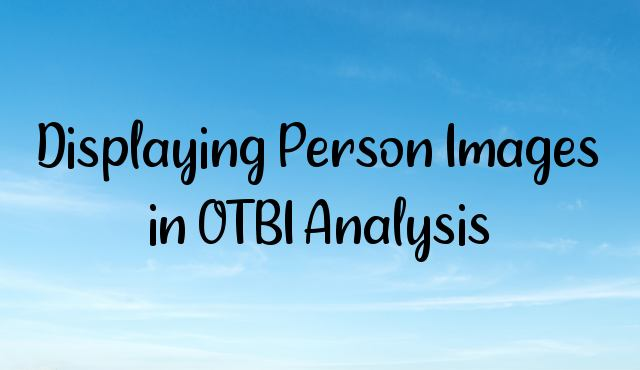 Displaying Person Images in OTBI Analysis