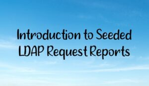 Introduction to Seeded LDAP Request Reports