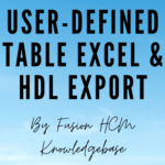 User DEFINED TABLE EXPORTER 1 150x150 - User-Defined Table Excel and HDL Exporter Tool