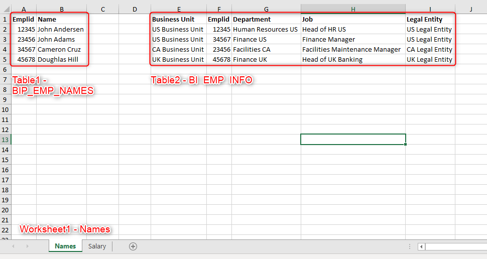 image 50 - How to Create BI Report using static Excel file .xls