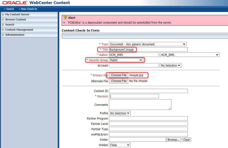 image 44 - How to store Public Documents on Content Server and share a hyperlink on the application