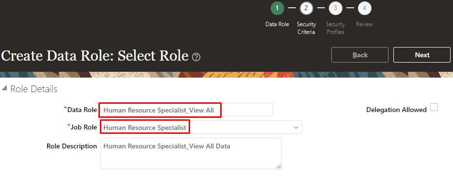 image - How to create Data Role based on Job Role