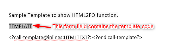 image 14 - How to display HTML formatted text using HTML2FO function and RTF template?