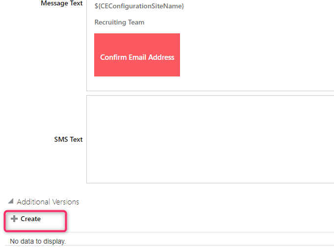 image 2 - How to modify Candidate facing Notifications in Oracle Recruiting Cloud?