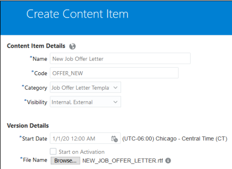 image 24 - How to Map RTF template to Offer Letter and create Offer for Candidate?