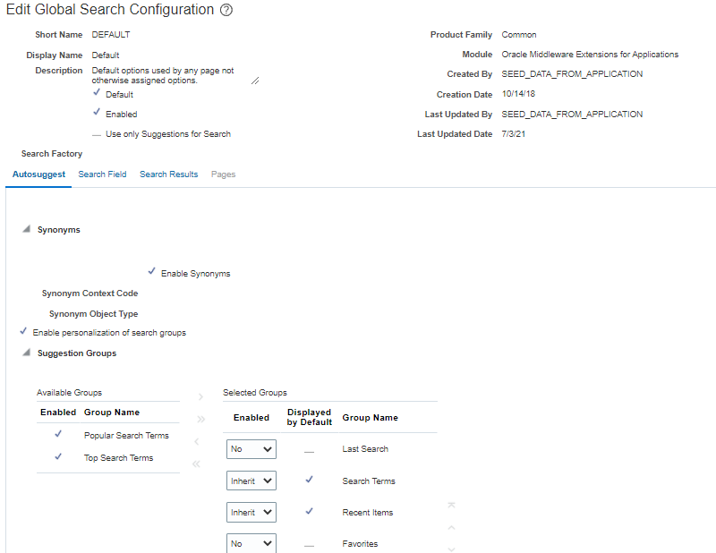 image 25 - How to configure Global Search in Oracle Cloud Applications?