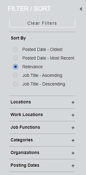 image 43 - How to Configure Job Requisition DFF as search filters on Career Site in ORC?