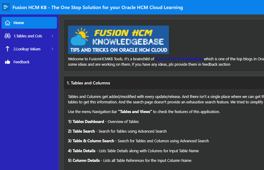 image 10 - Introducing Fusion HCM KB Tools on Oracle APEX